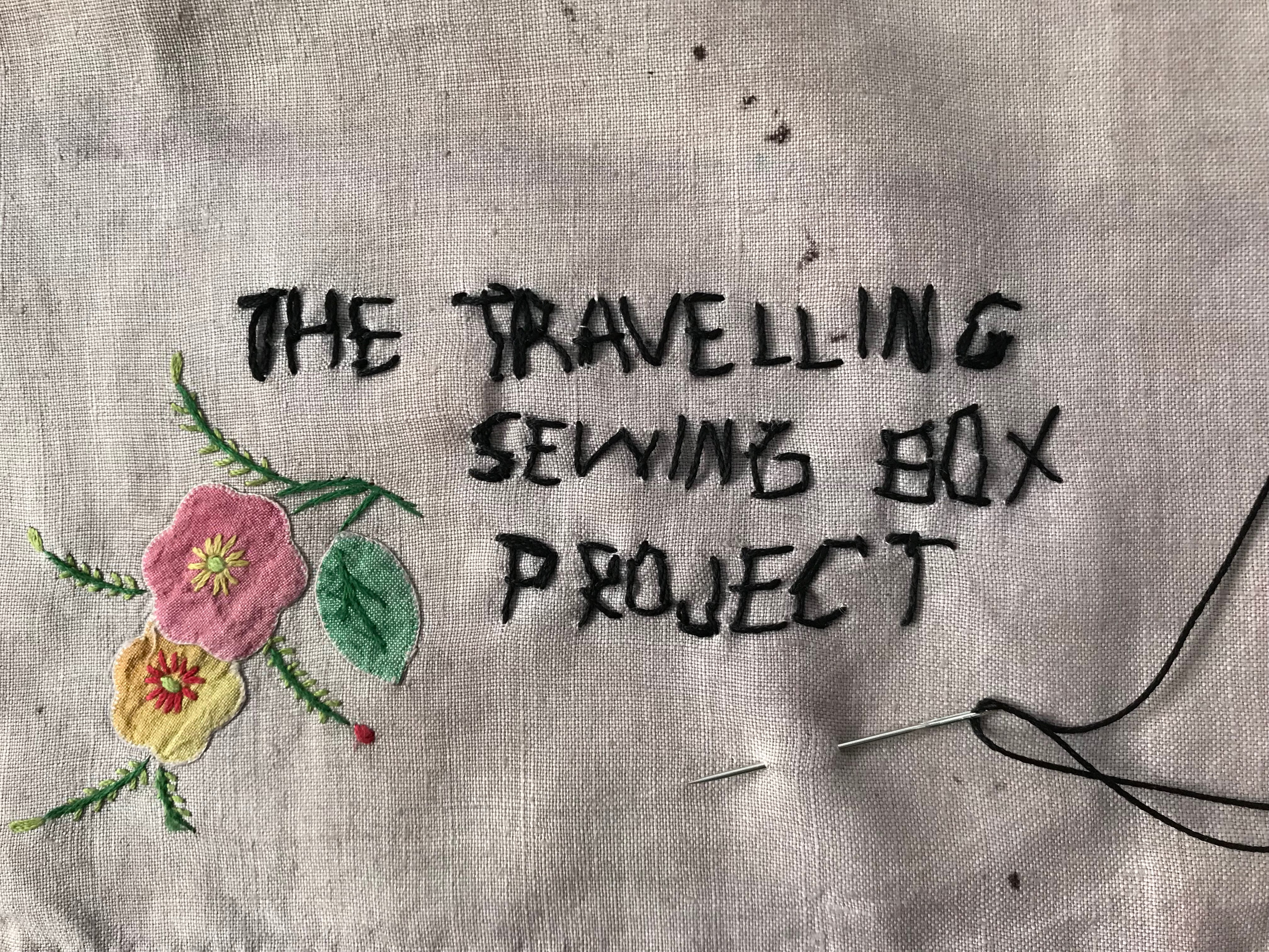 Travelling Sewing Box Project ©